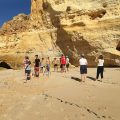 beach algarve rocks